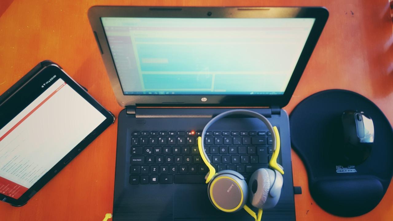 Headphones are important for audio transcription