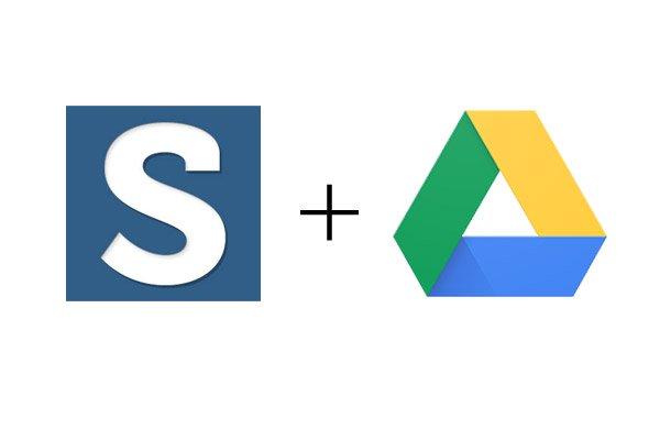 scribie&googledrive