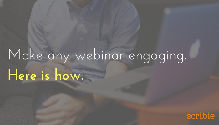 Make any webinar engaging