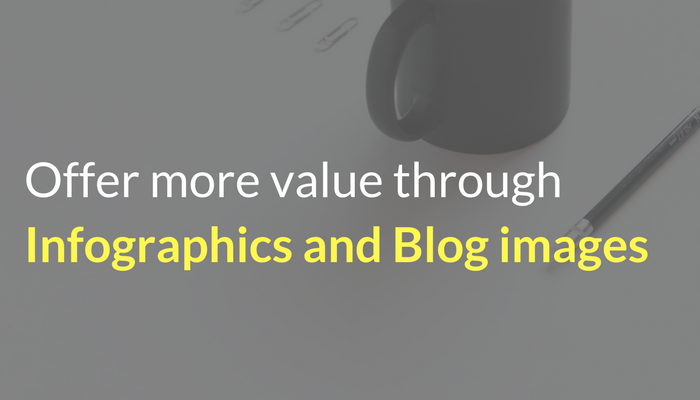 How to offer more value to your podcast audience by using infographics and blog images by only investing 5 minutes