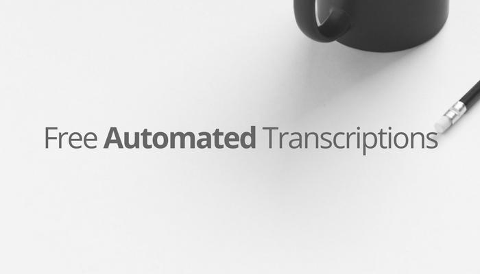 Free Transcription Service
