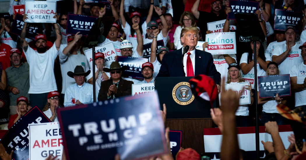 Trump's Keep America Great rally in New Mexico, 9/16/19