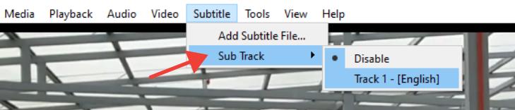 choose subtitle file
